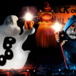 Halloween Composition - Stock Photo
