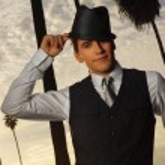 hombre Hat — Foto de Stock