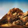 Stock Photo: Desert Rocks