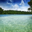 Tropical ocean - Stock Photo