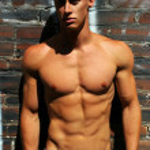 Fitness model — Stock Photo