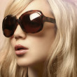 Photo of girl in sunglasses — Stok fotoğraf