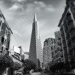 transamerica pyramid — Stock Photo