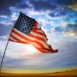 Old glory flagga — Stockfoto