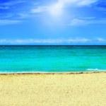 Beach background — Stock Photo