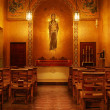 Church interior - Stock Photo