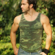 Outdoor man — Stockfoto