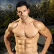Fitness male — Stock Photo