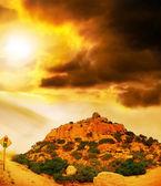 Montanha de boulder — Fotografia Stock