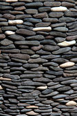 Pebble natural stone texture — Stock Photo