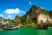 Limestone Cliffs in Krabi, Thailand — Foto Stock