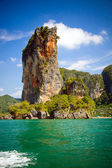 Limestone Cliffs in Krabi, Thailand — Stock Photo