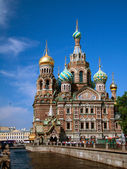 Church of the Savior on Blood, Saint-Petersburg — Stock Photo