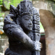 Traditional balinese warrior statue — Stock Photo #9548067