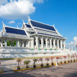 White buddhist temple in Krabi town, Thailand — Stock Photo #9548091