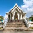 White buddhist temple in Krabi town, Thailand — Stock Photo #9548101