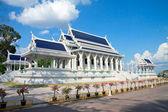 Krabi Town, Tayland Budist tapınağı beyaz — Stok fotoğraf