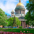 Saint Isaac cathedral in St Petersburg, Russia — Stock Photo #9682655