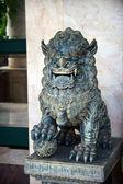 Chinese Stone Lion — Stock Photo