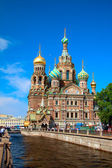 Church of the Savior on Blood - very famous landmark in Saint Pe — Stock Photo