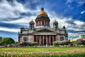 Saint Isaac cathedral in St Petersburg, Russia — Stok fotoğraf