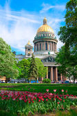 Saint Isaac cathedral in St Petersburg, Russia — Stockfoto