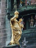 Marien-statue in Munich, Bavaria, Germany — Stock Photo