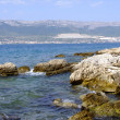 Royalty-Free Stock Photo: Küstengebirge und Meer in Split Kroatien
