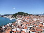 Altstadt und Uferpromenade Split in Kroatien — Stock Photo