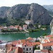 Omis - City of Pirates in croatia - Lizenzfreies Foto