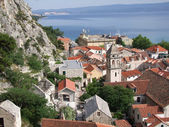 Omis - ville des pirates en croatie — Photo