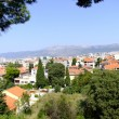 Royalty-Free Stock Photo: Split in croatia - view over the city to the mountains