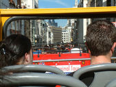 Bus Seightseeing Tour in London — Foto de Stock