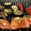 Foto Stock: Grilled vegetables