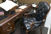 Office with a desk and chair, American-styl — Stock Photo