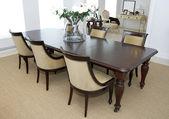 餐桌和椅子 — 图库照片