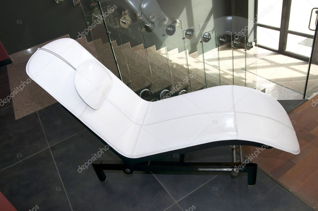 A large lounge chair — Stok fotoğraf #10725250