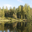 Lake in Scandinavia — Stock Photo