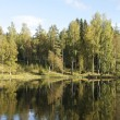 Stock Photo: Lake in Scandinavia