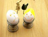 Malovaná vajíčka — Stock fotografie