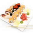 Nutritious sushi — Stock Photo