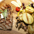 Steak and potatoes — Stock Photo #9124623