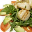 Royalty-Free Stock Photo: Salad of scallops