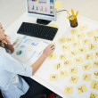 Adhesive notes - Stockfoto