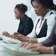 Royalty-Free Stock Photo: Women working in call center