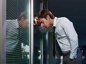 Triste empresaria — Foto de Stock