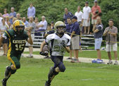 Catholic Youth Fooball - after school program — Foto de Stock