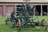 Farm harvesting machine — Stock Photo