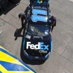 NASCAR 2012: Sprint Cup Series Subway Fresh Fit 500 Mar 03 — Stock Photo