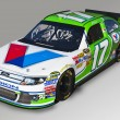 NASCAR:  DEC 10 Valvoline Race Car — Stock Photo